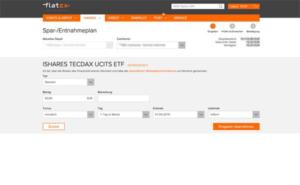 Sparplan einrichten bei Flatex