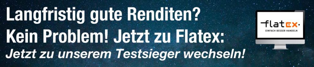 Flatex Banner